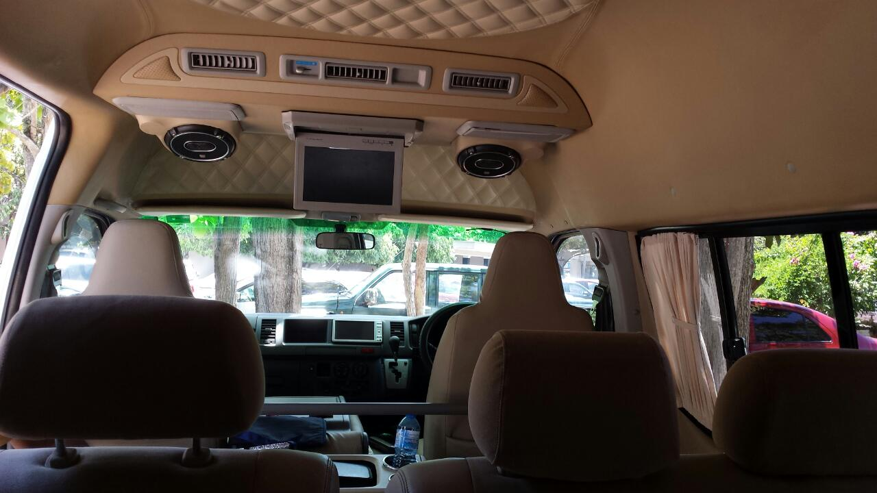 hire a van with clean interior