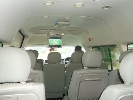 16 seater AC bus for hire in Sri Lanka