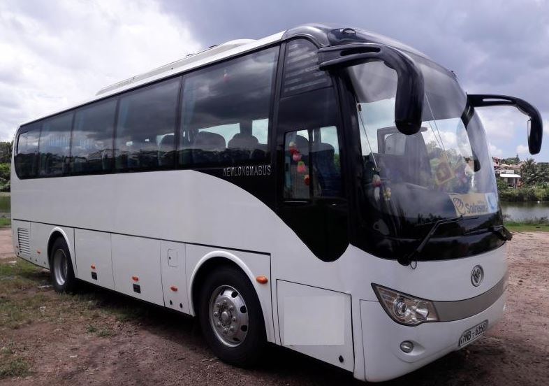 32 seater AC Higher bus for hire Sri Lanka