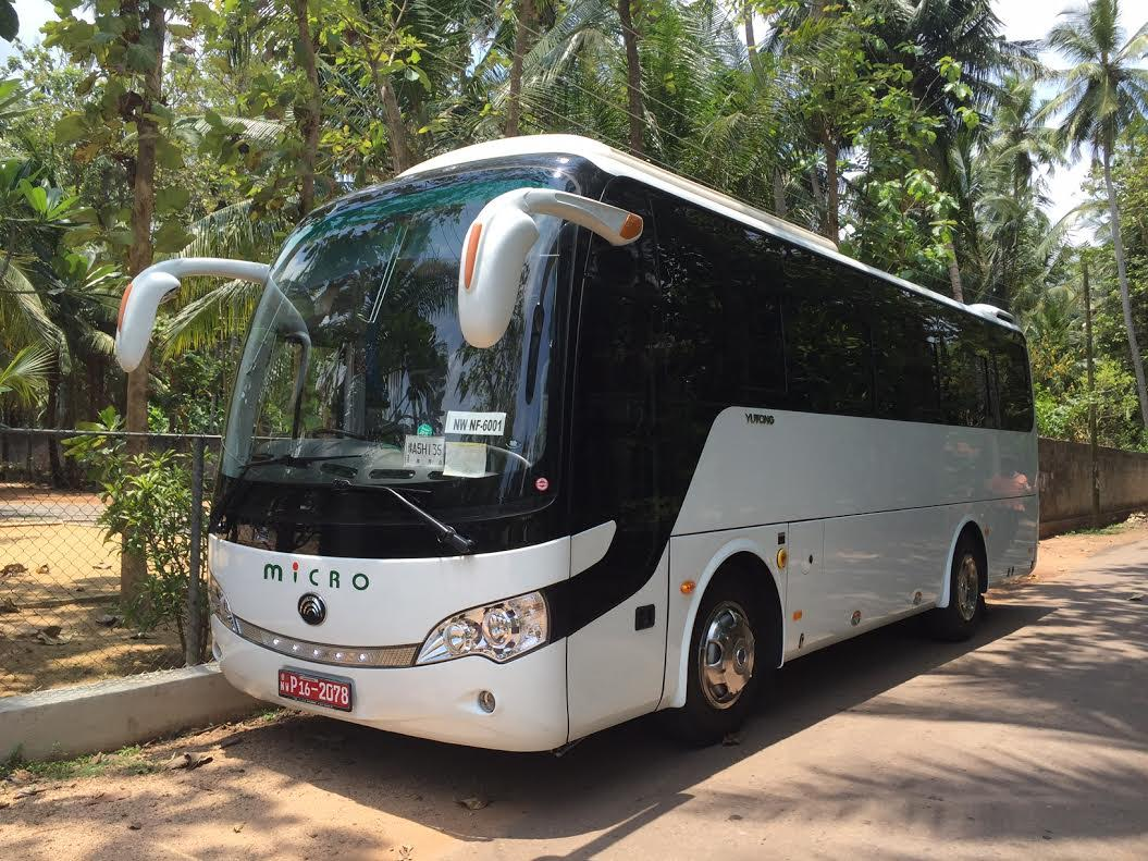 32 seater Micro AC bus for hire in Sri Lanka