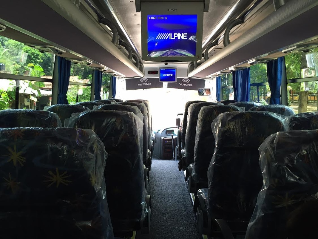 32 seater new AC Micro bus inside
