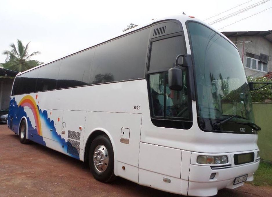 45 seater bus for hire in Colombo Airport