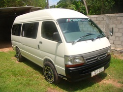 Dolphin Highroof van for hire