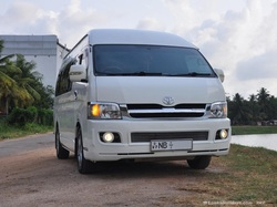 Luxury Van For Hire Sri Lanka