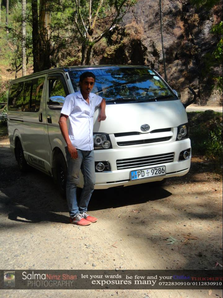 hire sri lankan driver for tours kdh van