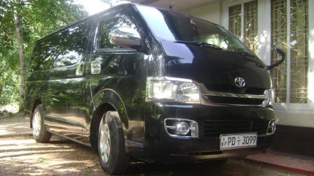 4ecb28d4f7 Toyota Hiace KDH for hire Sri Lanka Picture of the Van ...